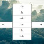 Himmel und Hölle – Spiel zum Konjugation lernen
