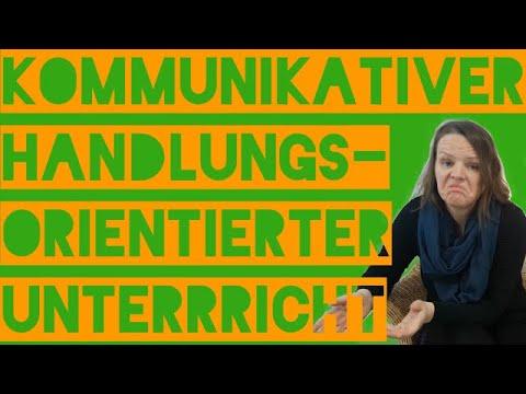 Kommunikativer handlungsorientierter Unterricht