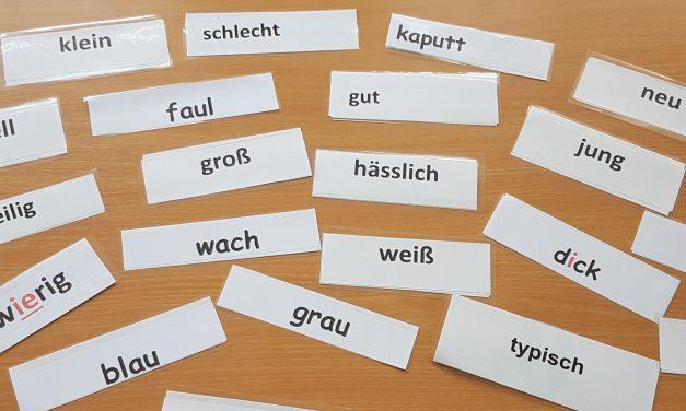 Die häufigsten deutschen Adjektive
