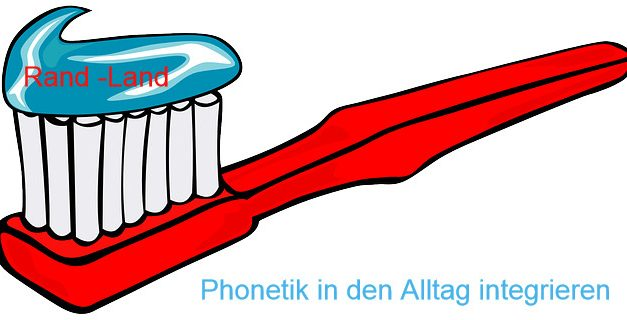 Phonetik DaF Zahnputzsatz