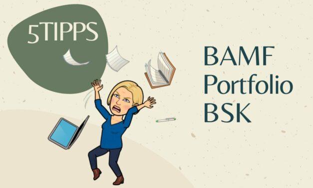 BAMF Portfolios erstellen