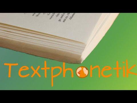 Arbeiten mit Texten – Phonetikmethode