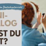 Rhythmus im Deutschunterricht: Hast du Zeit?